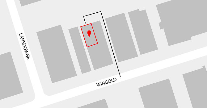 84 Wingold Ave, Location