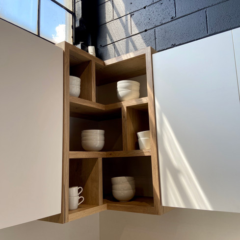 shelving showroom