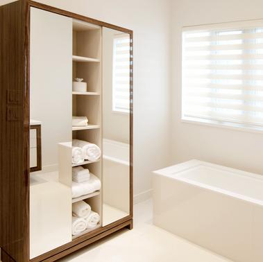 bathrooom storage x2