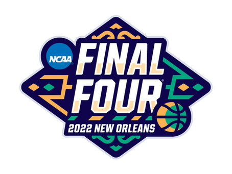 NCAA and noloc release logo for 2022 final four