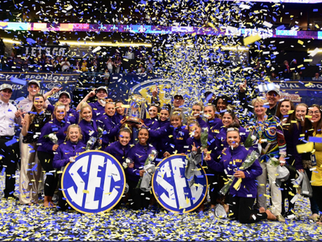 Sport foundation and smg host record sec championship