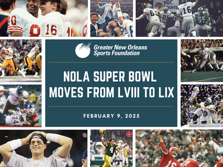 NFL OWNERS APPROVE NEW ORLEANS' REVISED PLAN TO HOST SUPER BOWL LIX IN 2025