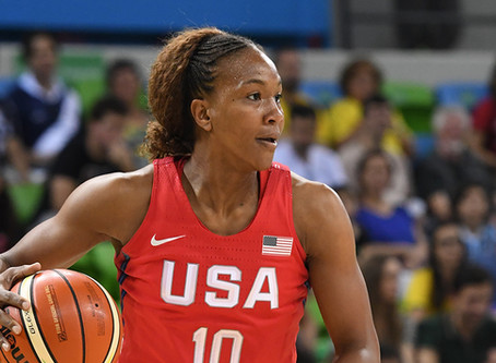 superstar tamika catchings host free youth clinic