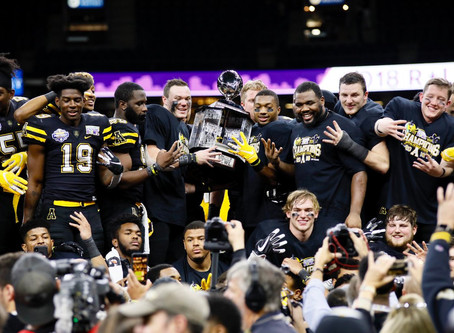 App State Wins 2018 New Orleans Bowl