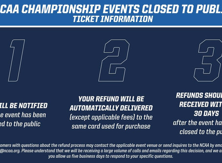 2020 NCAA Women's Final Four Canceled