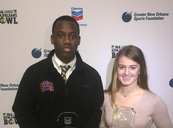 Week 12 Chevron Scholar-Athlete of the Week