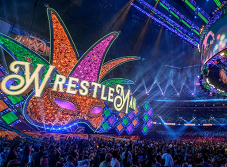WrestleMania Breaks Superdome Record