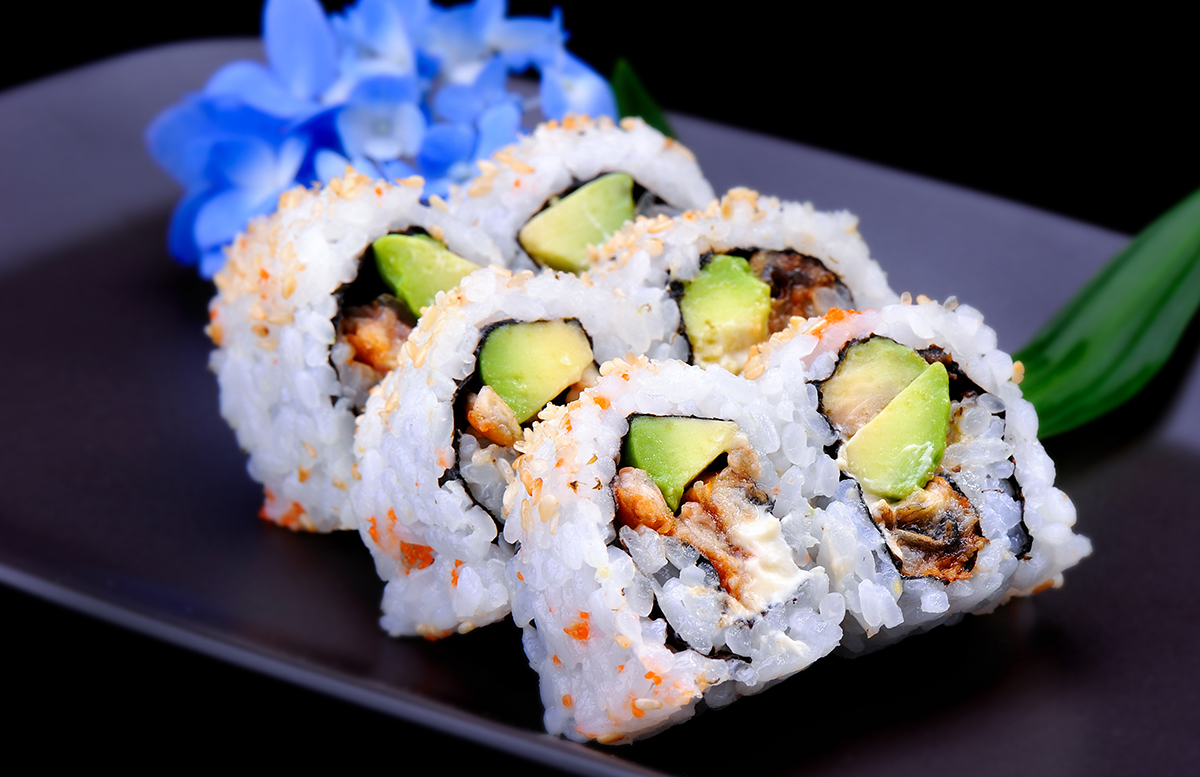 Суши для портфолио