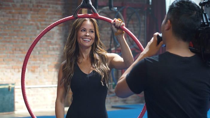 Brooke Burke Commercial Shoot