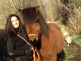 Yasmine Camenzind avec Kyndill (Cerniaz, VD)