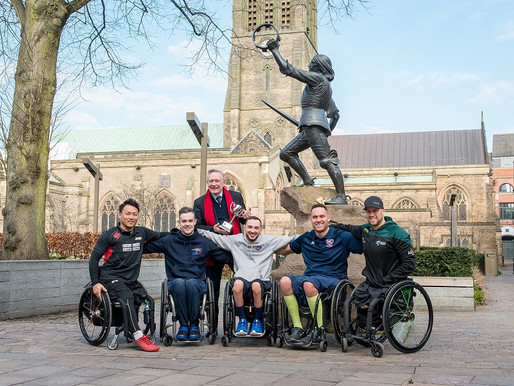 Captains Arrive In The City Of Kings For  The King Power Wheelchair Rugby Quad Nations