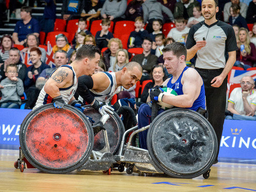 Great Britain Wheelchair Rugby Announce Line Up For The Return Of King Power Quad Nations Tournament