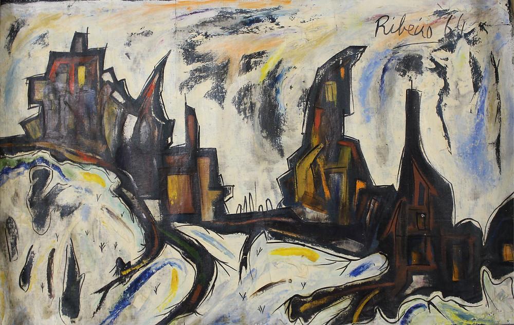 RIB, White Landscape, 1964