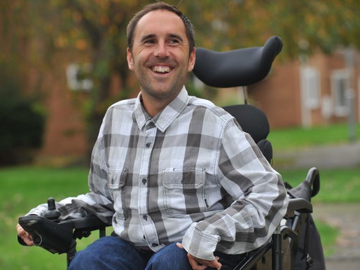 Disabled App Wheels In Support From Disability Power 100's Martyn Sibley