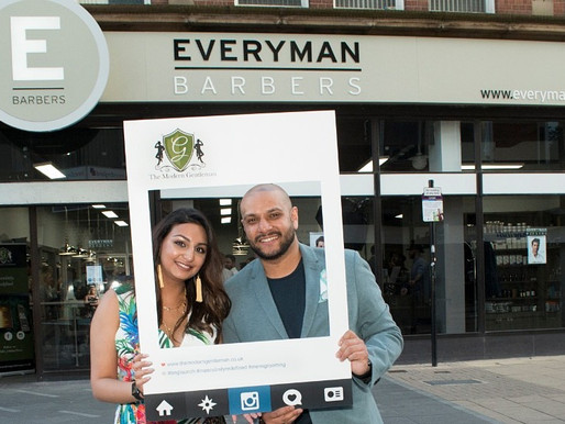 Luxury grooming e-store The Modern Gentleman celebrate VIP Launch