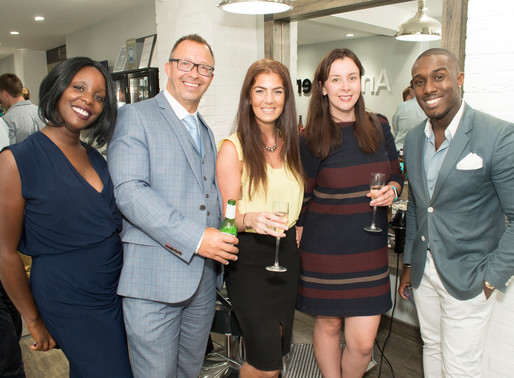 Luxury male groomers Everyman Barbers celebrate a summer social with Birmingham Law Society