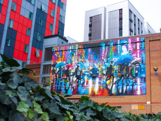NEW STREET ART COMMISSIONS REVEALED FOR IN PAINT WE TRUST IN COVENTRY CITY CENTRE