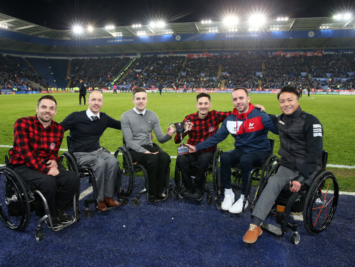 King Power Wheelchair Rugby Quad Nations Winners' Trophy To Be Named In Memory Of King Power's Forme