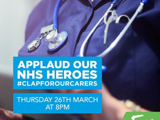 Coventry Set To Clap For The NHS And Remind Us All Of The Importance Of Home