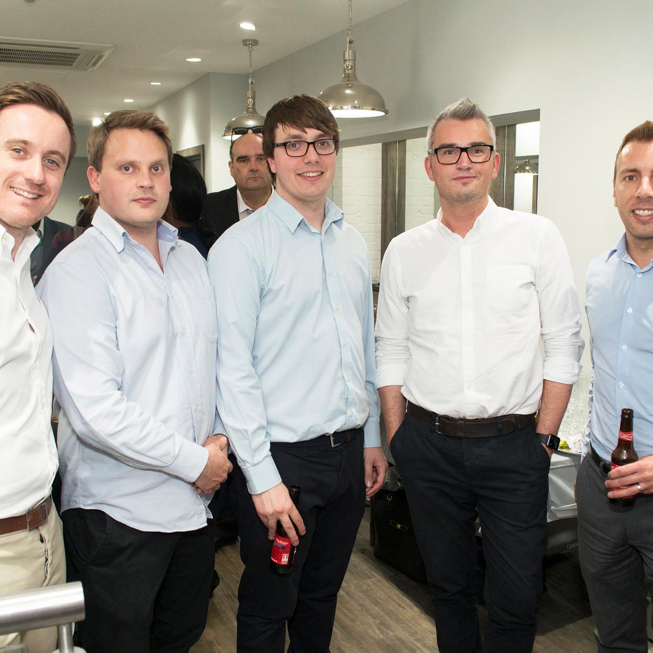 Tom Fletcher, Oliver Scott-Petrie, Richard Sweetman, Luke Daniels, Chris Hurlston