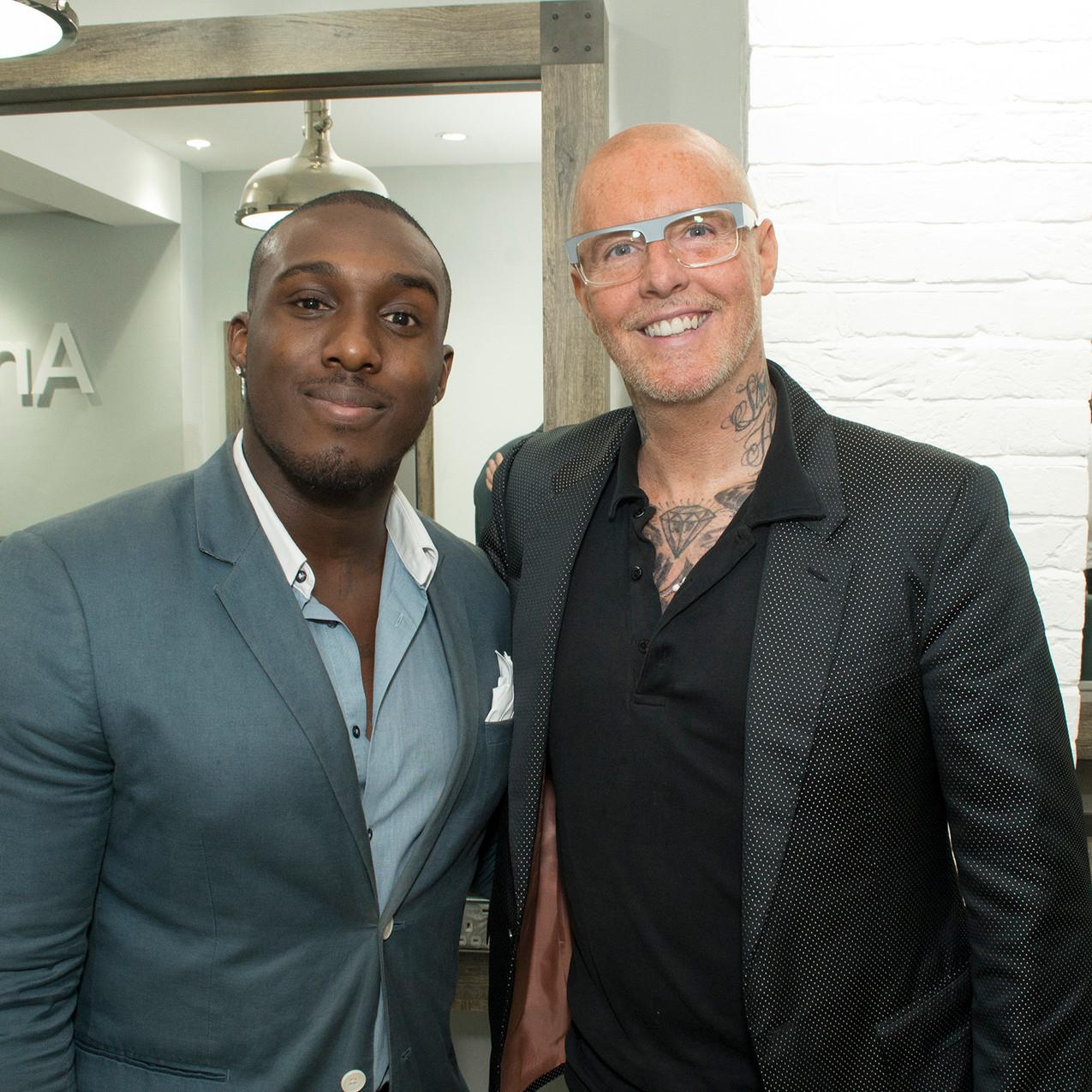 Aaron Archer Selfridges Personal Shopper and Celebrity Hairdresser Adee Phelan
