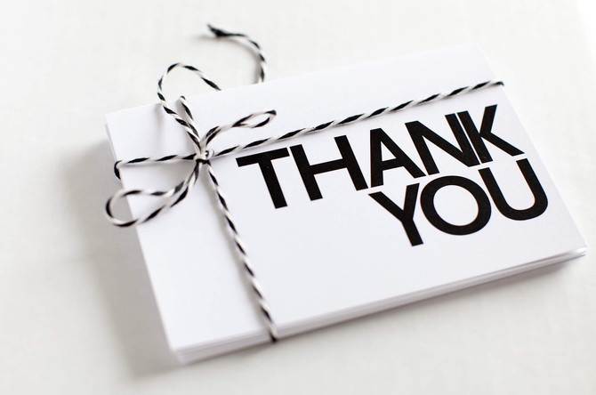 Thank You for the referrals and FB page shares!