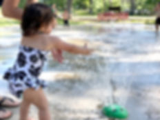 Lake Bruin State Park Water Play area