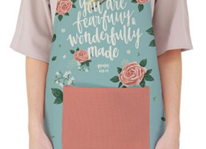 You Are Fearfully And Wonderfully Made {Apron}
