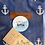 Thumbnail: Anchor drawstring pouch