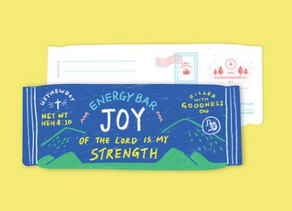 (Love Supermarket) Joy Energy Bar Card