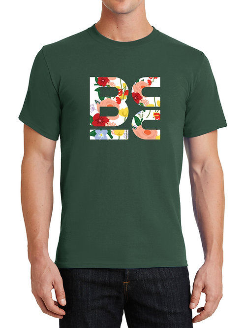 BCC Green with Floral Logo - 1 Tee