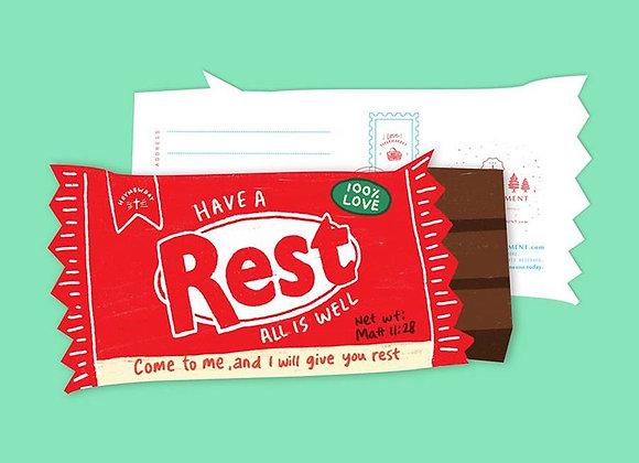 Rest Chocolate Bar (LOVE SUPERMARKET Card)