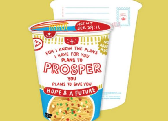 (Love Supermarket) Prosper Cup Noodles Card