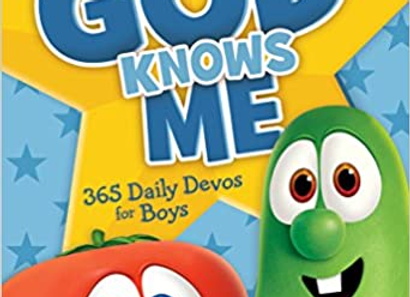 God Knows Me: 365 Daily Devos for Boys (VeggieTales)