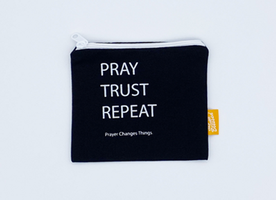 The Super Blessed Coin Pouch, Cloth - Pray Trust Repeat
