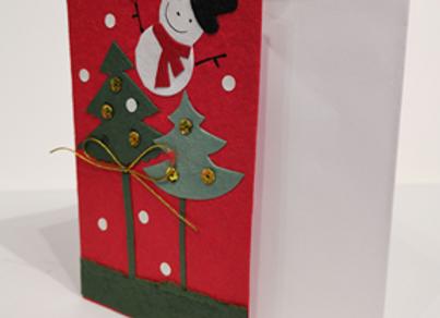 Felt Christmas PREMIUM CARD (Assorted Designs)