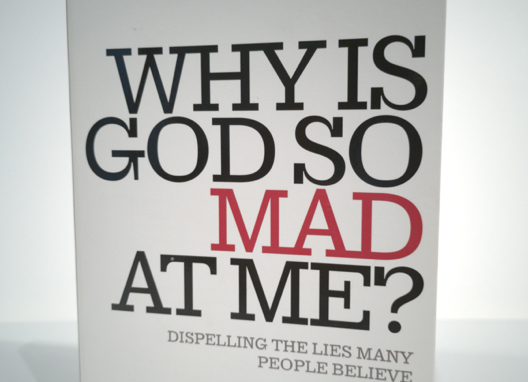 [Pre-loved] Why is God so Mad at Me? Dispelling the Lies Many People Believe