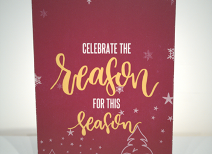 BCC - Christmas Cards - Celebrate the season for this season