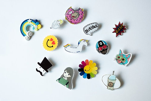 Assorted Badges