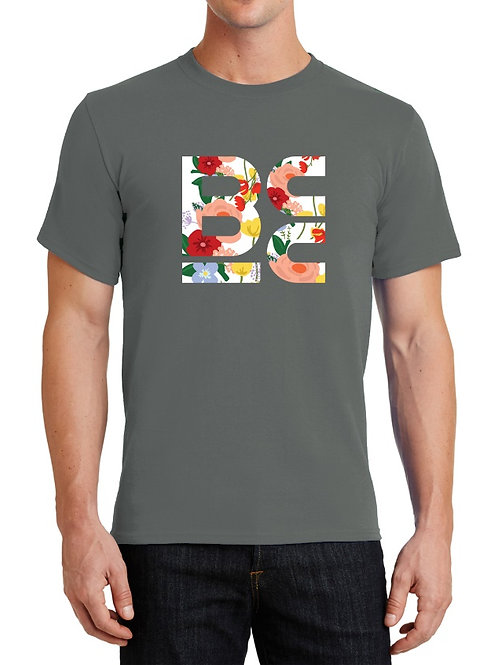 BCC Grey with Floral Logo - 1 Tee