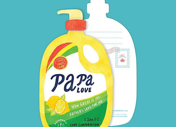 Papa Love Soap (LOVE SUPERMARKET Card)