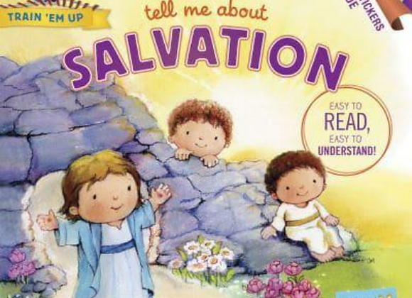 Tell Me About Salvation - Train 'Em Up