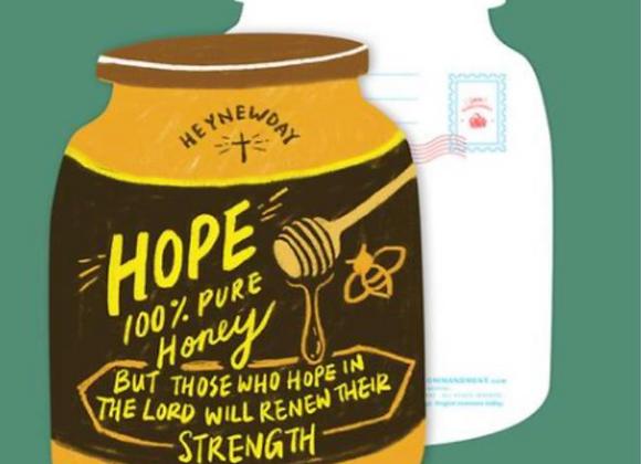 (Love Supermarket) Hope Honey Card