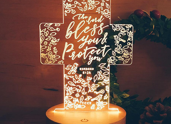The Lord Bless You & Protect You {Night Light}
