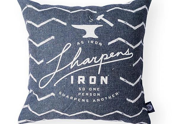Iron Sharpens Iron {Cushion Cover}