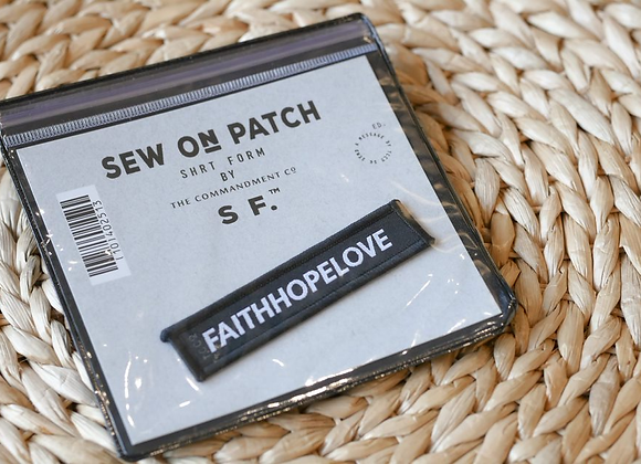 TCCO - Sew on Patch