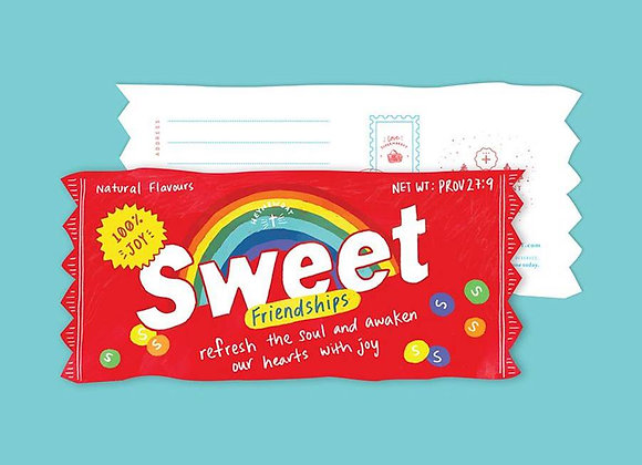 Sweet Friendships Candy (LOVE SUPERMARKET Card)