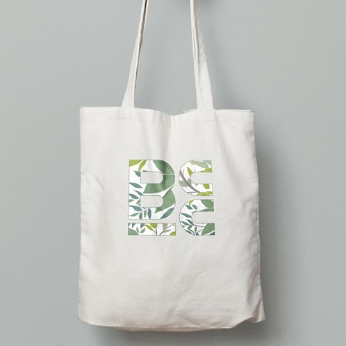 BCC Forest Logo Large Tote Bag