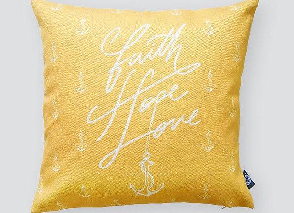 Faith Hope Love (Cushion Cover)