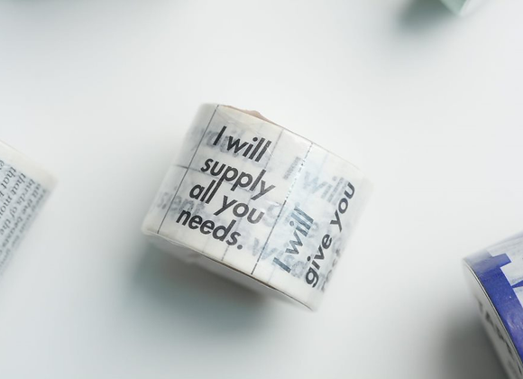 Washi Tapes (Wide)
